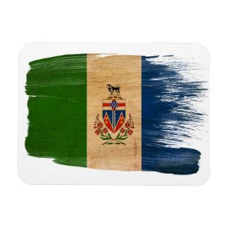 Bandera de los territorios del Yukón Imanes De Vinilo