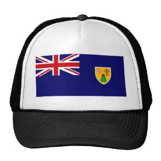 Bandera de los turcos y de las islas de Caico Gorra