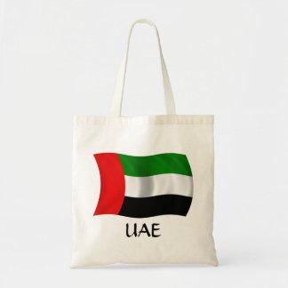 Bandera de los UAE que agita Bolsa