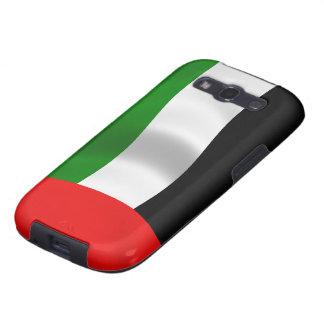 Bandera de los UAE que agita Galaxy S3 Cobertura