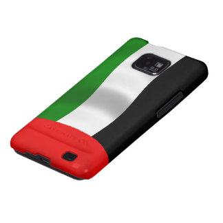 Bandera de los UAE que agita Galaxy SII Carcasas