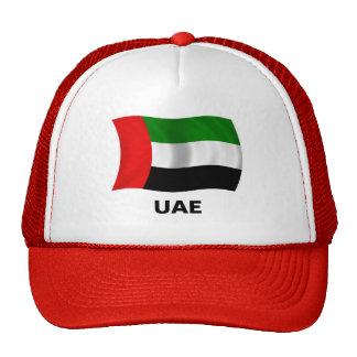 Bandera de los UAE que agita Gorros Bordados