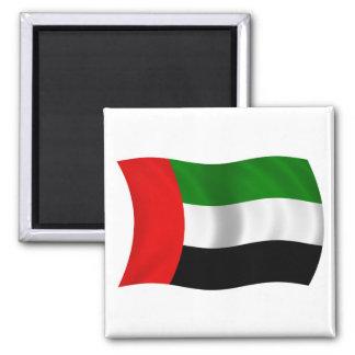 Bandera de los UAE que agita Imanes