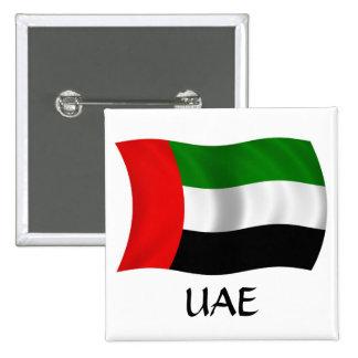 Bandera de los UAE que agita Pins