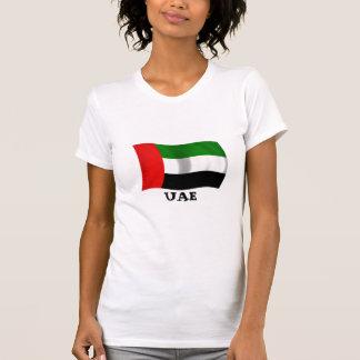 Bandera de los UAE que agita Camisetas