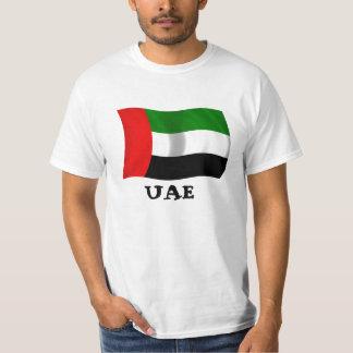 Bandera de los UAE que agita Poleras