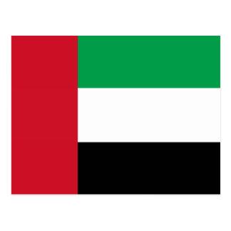 Bandera de los United Arab Emirates Tarjetas Postales
