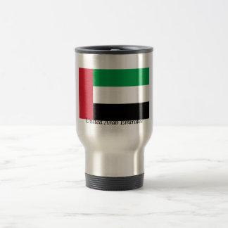 Bandera de los United Arab Emirates Taza Térmica