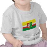 Bandera de Lubuskie - de Lubusz Camisetas