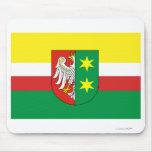 Bandera de Lubuskie - de Lubusz Tapete De Ratones