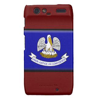 Bandera de Luisiana Droid RAZR Carcasas