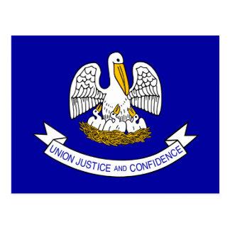 Bandera de Luisiana Postales