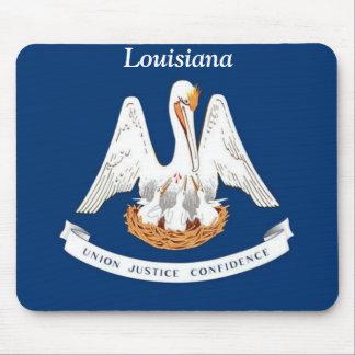 Bandera de Luisiana Tapete De Ratones