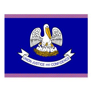 Bandera de Luisiana Tarjetas Postales