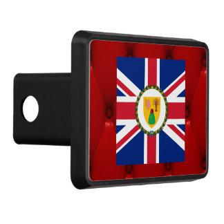 Bandera de lujo de Turks and Caicos Islands en el Tapas De Remolque