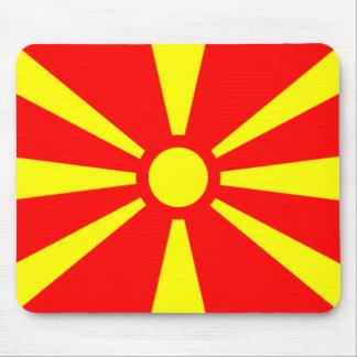 Bandera de Macedonia Alfombrillas De Ratón