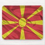 Bandera de Macedonia Alfombrillas De Ratones