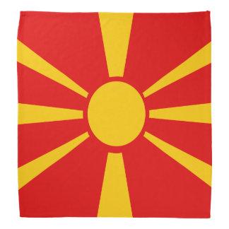 Bandera de Macedonia Bandanas