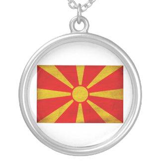 Bandera de Macedonia Colgante Redondo