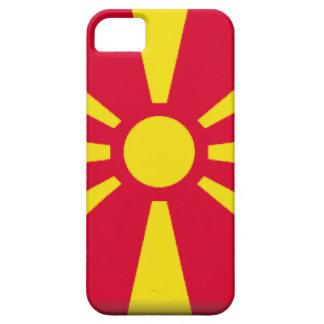 Bandera de Macedonia iPhone 5 Protectores