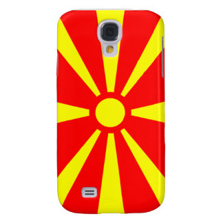 Bandera de Macedonia Funda Para Galaxy S4