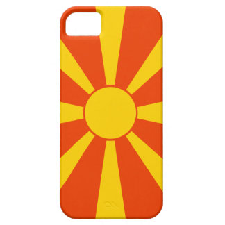 Bandera de Macedonia iPhone 5 Carcasas