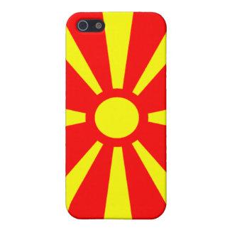 Bandera de Macedonia iPhone 5 Fundas