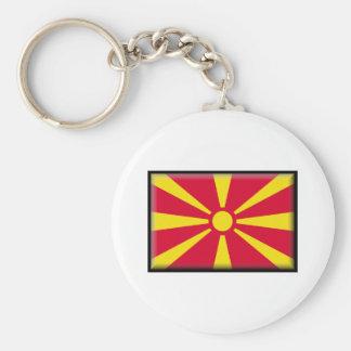 Bandera de Macedonia Llavero