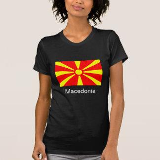 Bandera de Macedonia Tshirts