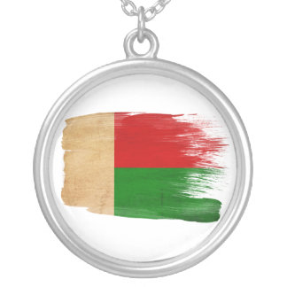 Bandera de Madagascar Colgante Redondo