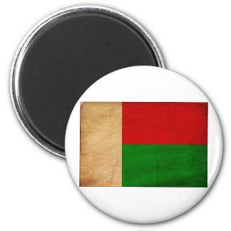 Bandera de Madagascar Imán Redondo 5 Cm