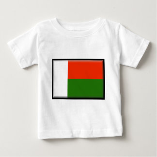 Bandera de Madagascar Playera