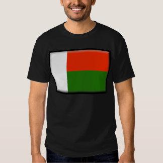 Bandera de Madagascar Playeras