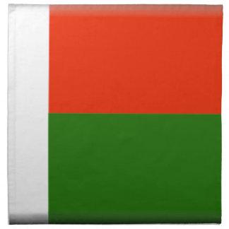 Bandera de Madagascar Servilletas De Papel