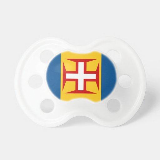 Bandera de Madeira Chupetes De Bebe