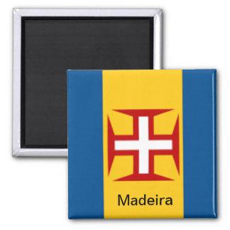 Bandera de Madeira Imán
