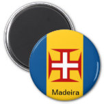 Bandera de Madeira Imán De Nevera