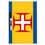 Bandera de Madeira Pizarras Blancas