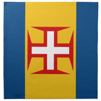 Bandera de Madeira (Portugal) Servilletas De Papel