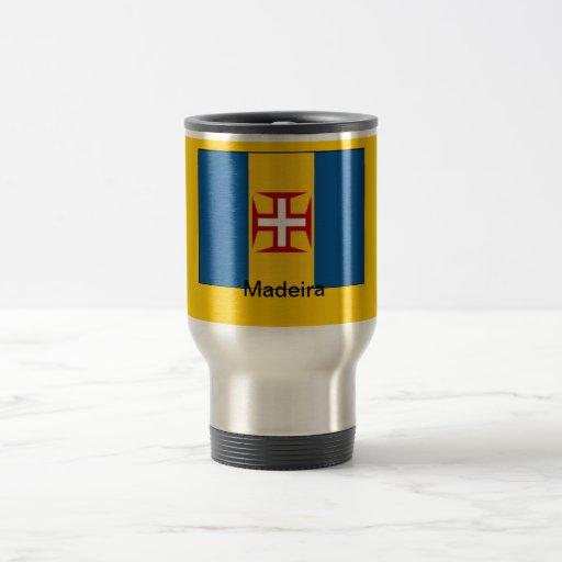 Bandera de Madeira Tazas