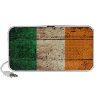 Bandera de madera de Irlanda Notebook Altavoz