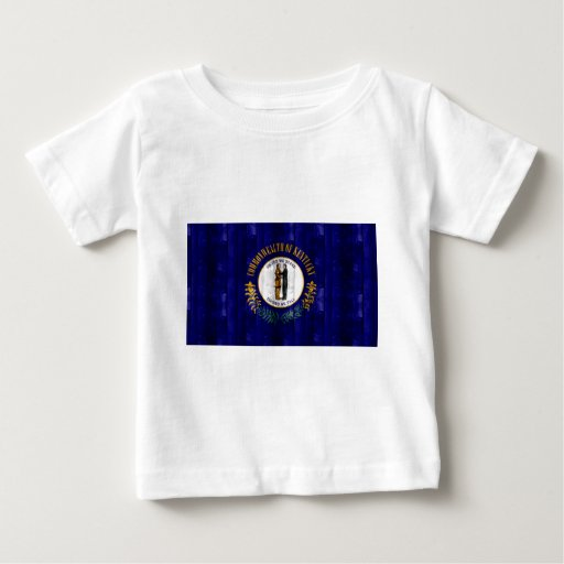 Bandera de madera de Kentuckee Tee Shirt