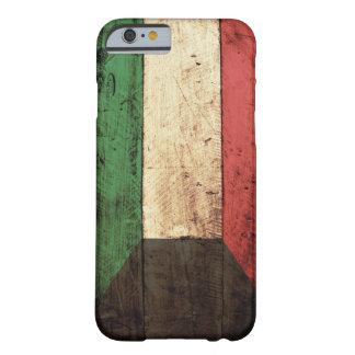 Bandera de madera de Kuwait Funda De iPhone 6 Barely There