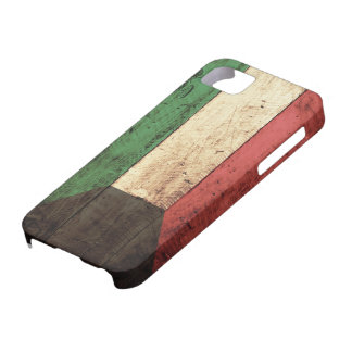 Bandera de madera de Kuwait iPhone 5 Funda