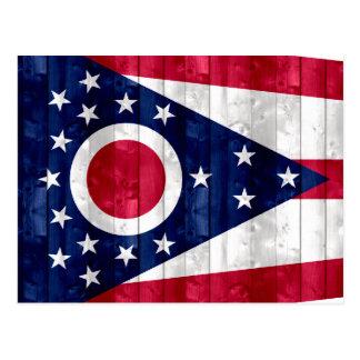 Bandera de madera de Ohioan Postal