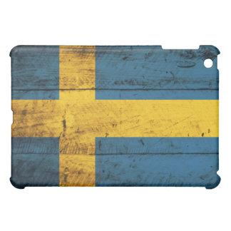 Bandera de madera de Suecia