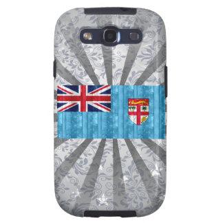 Bandera de madera del Fijian Galaxy SIII Funda