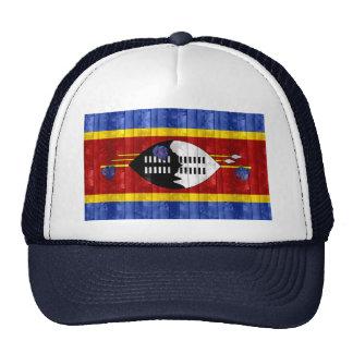Bandera de madera del Swazi Gorro