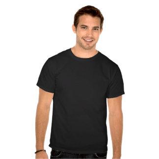 Bandera de madera rugosa de Quebec Camiseta