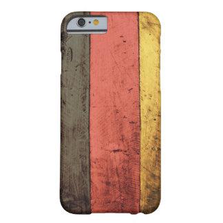 Bandera de madera vieja de Alemania Funda Para iPhone 6 Barely There